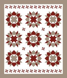 LOVE this Swoon quilt! especially the top and bottom borders, and the cornerstones...