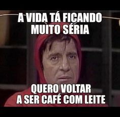 Café com leite! o/