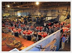"For a wedding theme of having a ""Fly with me"" idea. The Pacific Aviation Museum is a great place with it's vintage plane props as your guests enjoy the historical settings."