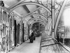 Museo Pitt Rivers - inicios 1890s