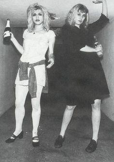 Hole, Courtney Love and Caroline Rue.