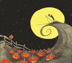 O Estranho Mundo de Jack, clássico de Tim Burton, vira um adorável (e sombrio) livro ilustrado