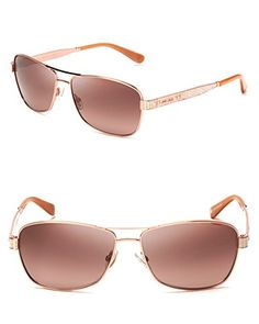 Jimmy Choo Logo Temple Aviator Sunglasses | Bloomingdales