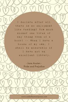 Jane Austen - Orgoglio e pregiudizio - citazioni