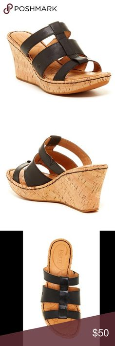 Selling this 👡 Born | Sharnee Wedge Sandal 👡 on Poshmark! My username is: melissal726. #shopmycloset #poshmark #fashion #shopping #style #forsale #Born #Shoes