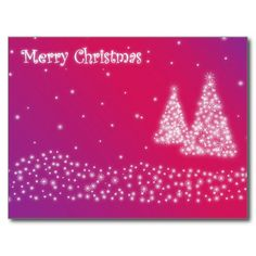 Merry Christmas Pink Glittery Postcards http://www.zazzle.com/merry_christmas_pink_glittery_postcards-239807593945322379
