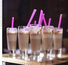 Spiked Chocolate Milkshakes