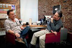 Bruce Springsteen and Jon Stewart