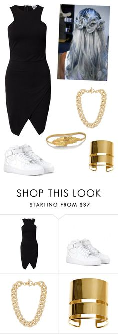 """I came to have a good time"" by almaluvmusic ❤ liked on Polyvore featuring Vero Moda, NIKE, Betsey Johnson, Michael Kors, By Malene Birger, LeiVanKash, StreetStyle, concert and goodvibes"