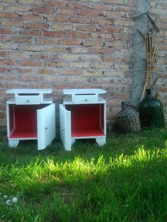 Mesas de noche restauradas Canning, Home, Bedside Tables, Upcycling, Mesas, Furniture, House, Home Canning, Homes