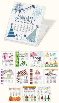 Celebration Station 2013 CD Calendar - Expressionery