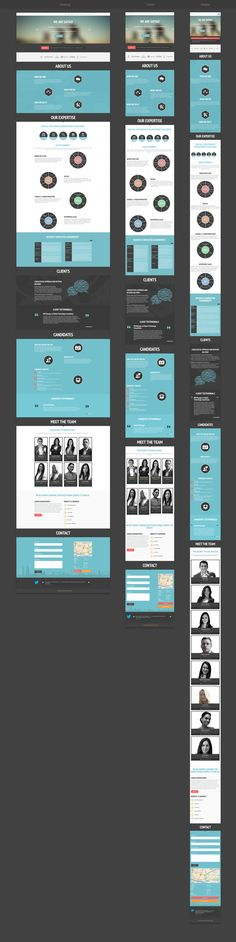 Responsive Web Design by Balraj Chana Web Design Trends, Design Web, Layout Design, Web Design Mobile, Web Layout, Email Design, Flat Design, Logo Design, Shop Layout