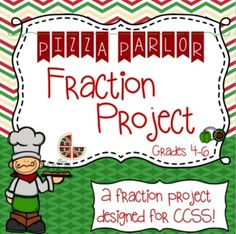 This fun, 22 student-page, fraction project is not just aligned to the common core, it was created for the common core. We looked at every grade fraction standard while designing this packet for our students. Sixth Grade Math, Fourth Grade Math, Third Grade, Teaching Fractions, Math Fractions, Multiplication, Fraction Activities, Teaching Schools, Math Projects