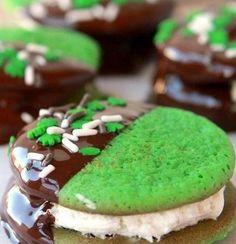 Chocolate-Mint Cookie Bites