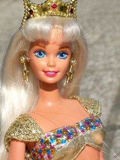 1995 Jewel Hair Barbie, totally had this mermaid barbie and the blue one too!
