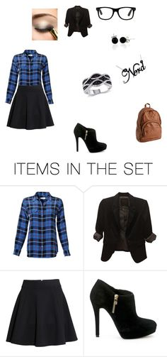 """""""nerdy stylish girl"""" by bl92002 on Polyvore featuring art"""