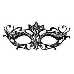 lace masquerade mask template - Penelusuran Google