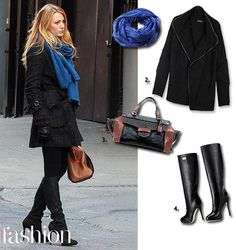 Get street style savvy like Blake Lively Blake Lively Street Style, Serena Van Der Woodsen, Blair Waldorf Dress, Gossip Girl Outfits, Fashion News, Fashion Outfits, Street Fashion, Glamour, Casual Fall