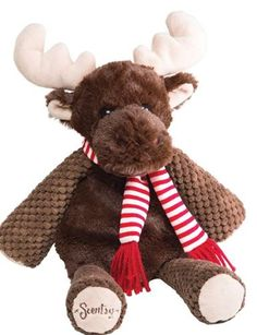Scentsy Moose - coming October 1st....Magnus the Moose Holiday Buddy.