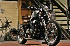 1987 Honda Rebel  CMX450 Custom Bobber, currently being auctioned on eBay.    http://ebay.co.uk/itm/221919728513?clk_rvr_id=916319700003&rmvSB=true