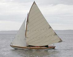Crocker Compass sailing dory