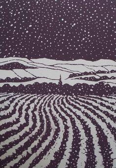 Masham, Winter 2 by Ian Scott Massie