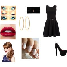 """Sin título #14"" by barbara-lagosn on Polyvore"