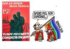 Vecchia e nuova famiglia... #IoSeguoItalianComics #Satira #Politica