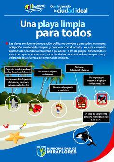 Una playa limpia para todos (Miraflores)