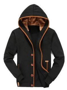 Winter Fleece Jacket in Black – Sweater Weather Co.