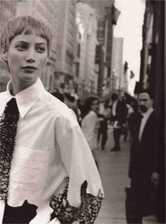 ☆ Christy Turlington | Photography by Peter Lindbergh | For Harper's Bazaar…