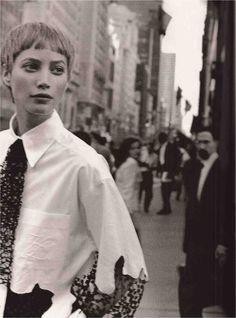 ☆ Christy Turlington | Photography by Peter Lindbergh | For Harper's Bazaar…