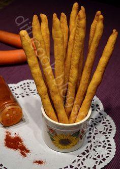 Γευστικές απολαύσεις από σπίτι: Κριτσίνια καρότου