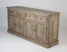 Albert Buffet - gray limed oak furniture   Tonic Home