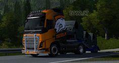 Euro Truck Simulator 2 Volvo FH 2012 Virtus.Pro Skin |