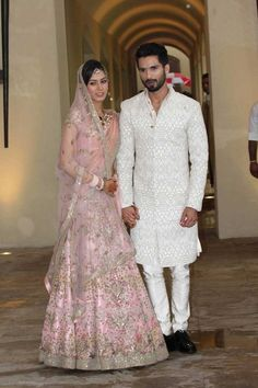 Mira Rajput marries Shahid Kapoor in Anamika Khanna!