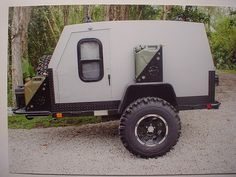 Off-road teardrop trailer