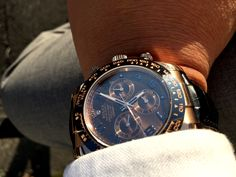 Rolex Daytona Watch, Omega Watch, Watches, Chocolate, Big, Gold, Accessories, Wrist Watches, Wristwatches