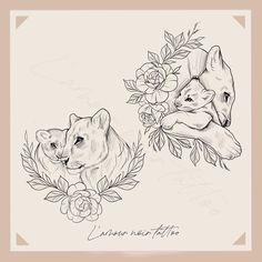 Mama Tattoo, Cubs Tattoo, Lioness Tattoo, Mommy Tattoos, Mother Tattoos, Baby Tattoos, Family Tattoos, Body Art Tattoos, Sleeve Tattoos