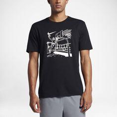 Nike Dry Hoop Draw Men's T-Shirt Size Medium (Black) - Clearance Sale