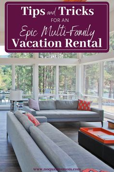 Travel Tips for Multi-Family Vacation Rentals - No Qualms Mom Vacation Meal Planning, Packing List For Vacation, Vacations To Go, Vacation Places, Family Vacations, Places To Rent, Vacation Home Rentals, Vacation Pictures, Family Travel