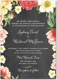 Floral Dreams Wedding Invites