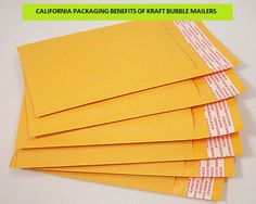 CALIFORNIA PACKAGING BENEFITS OF KRAFT BUBBLE MAILERS.Mailing services are becoming popular with the trend ò online shopping as it includes home delivery of items. This has enhanced the requirement of mailing accessories. PacDepot offers California Packaging Benefits of Kraft Bubble Mailers to help you keep your shipment safe . Read more about California Packaging Benefits of Kraft Bubble Mailers at http://pacdepot.com/blog/california-packaging-benefits-of-kraft-bubble-mailers.html