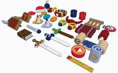 Zelda Items
