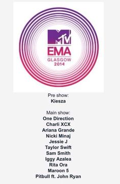 The boys will be attending the EMA's this year!  So ready for awards show 1D again.