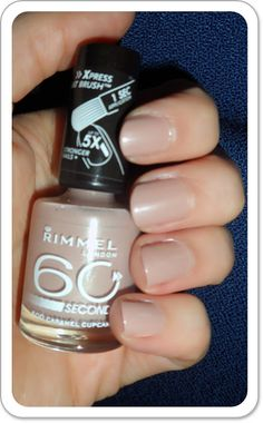 Rimmel London 60 Seconds in Caramel cupcake at Wal-Mart for only depending on location Caramel Cupcakes, Rimmel London, Nail Arts, Mj, Pedicure, Makeup Looks, Fashion Beauty, Nail Designs, Nail Polish