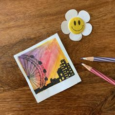 Watercolor art painting of polaroid painting series Cute Canvas Paintings, Small Canvas Art, Mini Canvas Art, Canvas Canvas, Doodle Drawings, Art Drawings Sketches, Cute Drawings, Aesthetic Painting, Watercolor Paintings