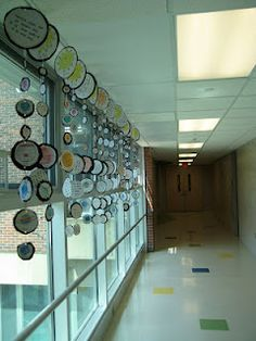 Allowing students to create their own planet mobiles would reinforce what they have learned about the order of the planets as well as characteristics regarding each of them. Teachers can use these mobiles to decorate their classrooms, and students would be able to reference them as they are on display. - KS
