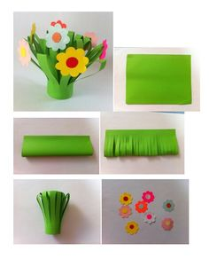 Make a bouquet for Mom and write a personal note!