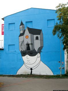 Street Art Around The World:Prague, Czech Republic